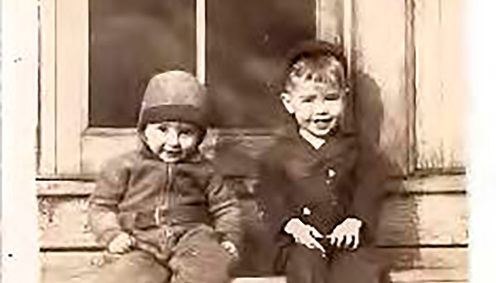 Ronnie and Danny 1942